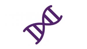 Purple virus icon