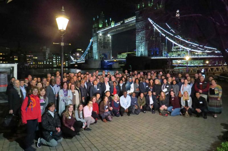 UK and International Veterinary Vaccinology Netwrok Conference group photo