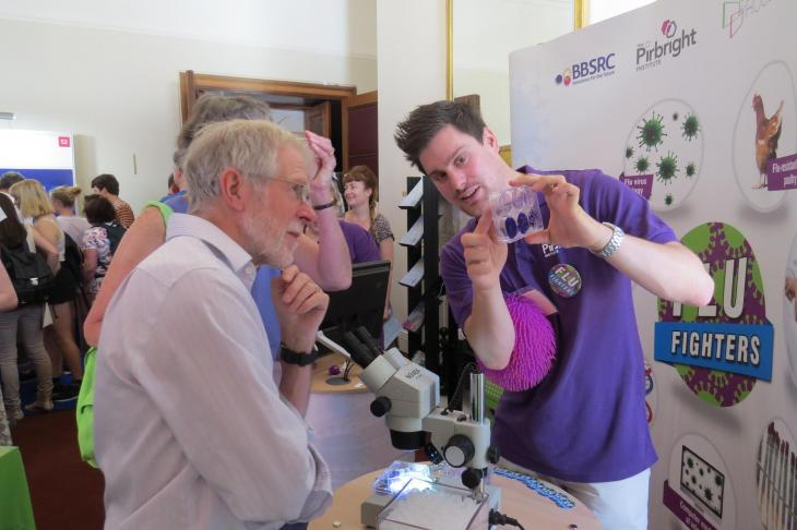 The Pirbright Institute at the Royal Society 2015