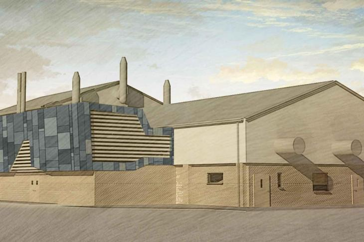 Artists impression of The Biggs Building