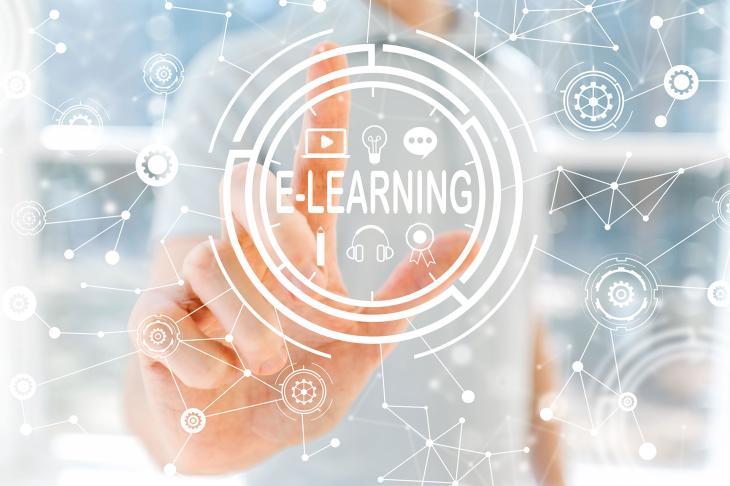 E-learning title image