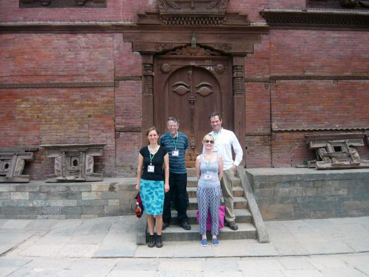 Reference laboratory team at rinderpest meeting