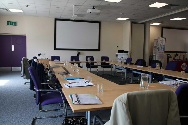 CCL suite - boardroom layout