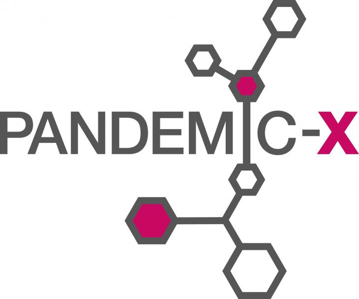 Pandemic-X game logo