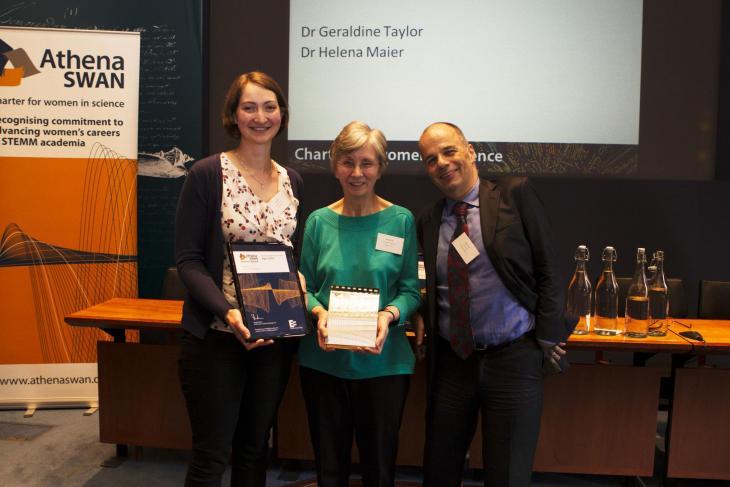Athena SWAN bronze award presentation