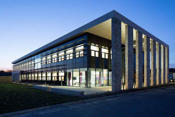 The BBSRC National Vaccinology Centre: The Jenner Building