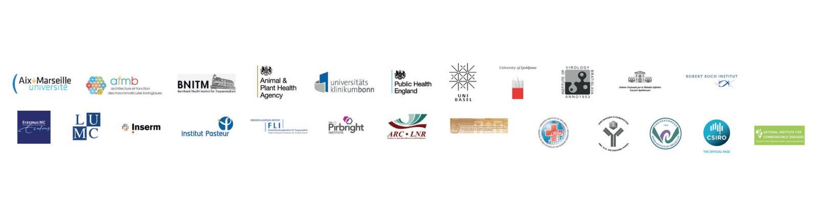 EVAg partner logos