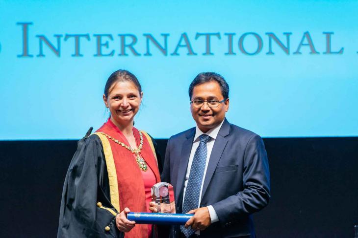 Sam Thevasagayam RCVS award