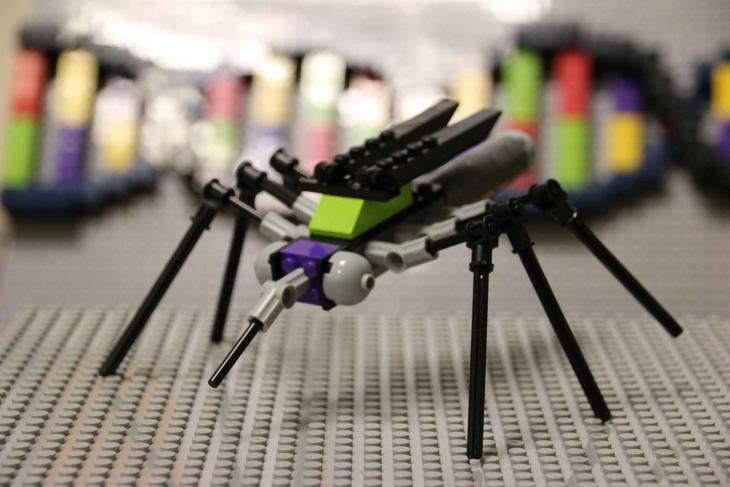lego mosquito DNA