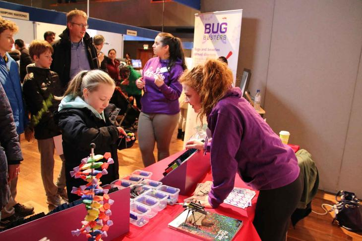 Bug Busters at Innovate Guildford 2018