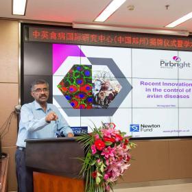 Venu Nair speaking at CERAD conference 2019