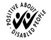 image: Positive about disabled people